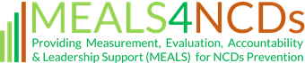 MEALS4NCDs Project  Logo